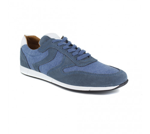 Sneaker Peter Blade Blue Leather GALANT