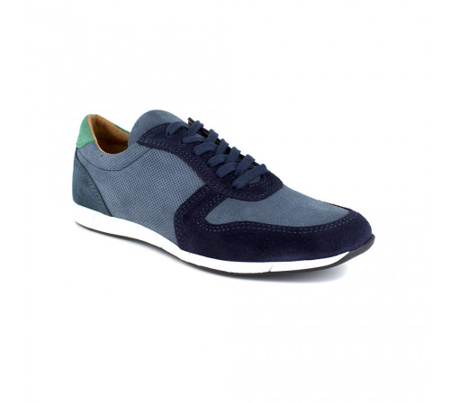 Sneaker Peter Blade Blue Leather MARIGOT