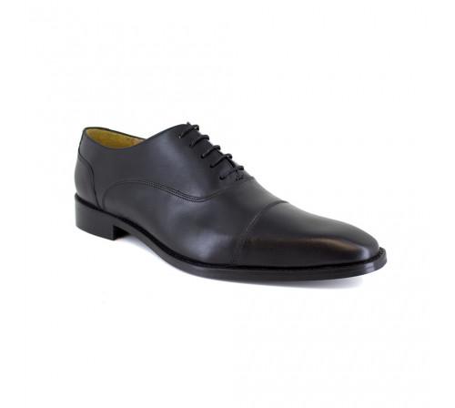 Richelieu J.Bradford Black Leather JB-GEMINO