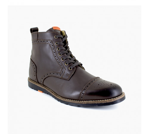 Low boot Peter Blade Brown Leather SANTIAGO