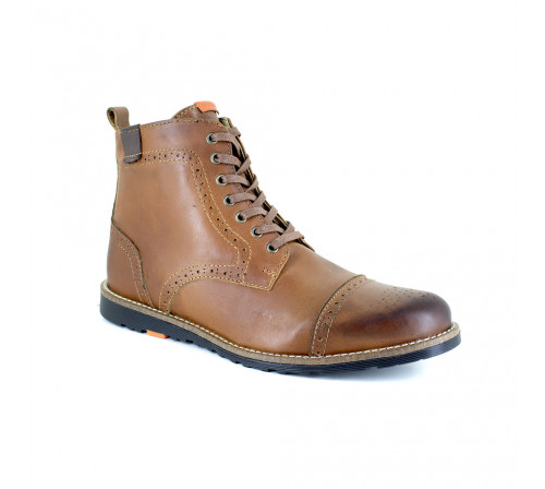 Low boot Peter Blade Cognac Leather SANTIAGO