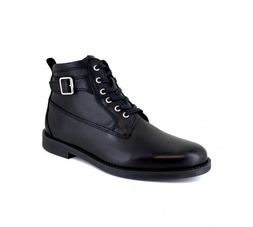 Bottine J.Bradford Cuir Noir JB-BARRY21