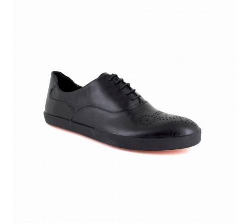 Sneaker J.Bradford Black Leather JB-KLONRY
