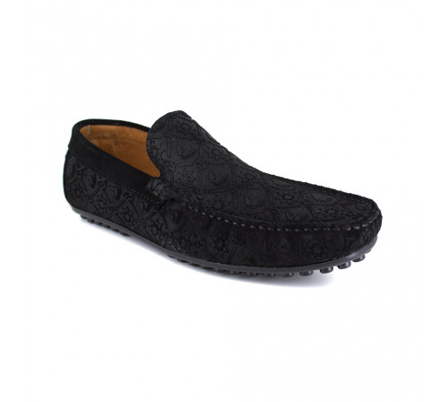 Loafer J.Bradford Black Leather JB-VEDETTE