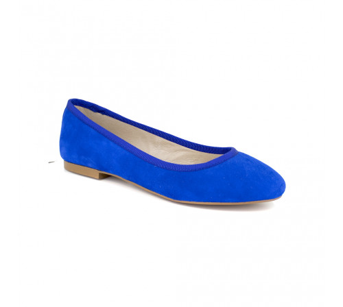 Ballerina J.Bradford Blue Leather JB-POPPY