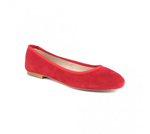 Ballerina J.Bradford Red Leather JB-POPPY